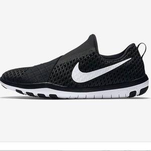NIKE Free Connect Slip On Black Training Sneaker